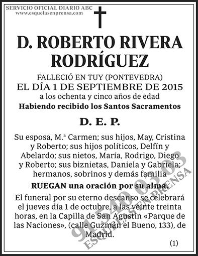 Roberto Rivera Rodríguez
